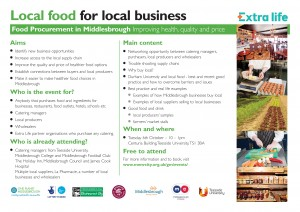 Local food for local business event A4-page-0